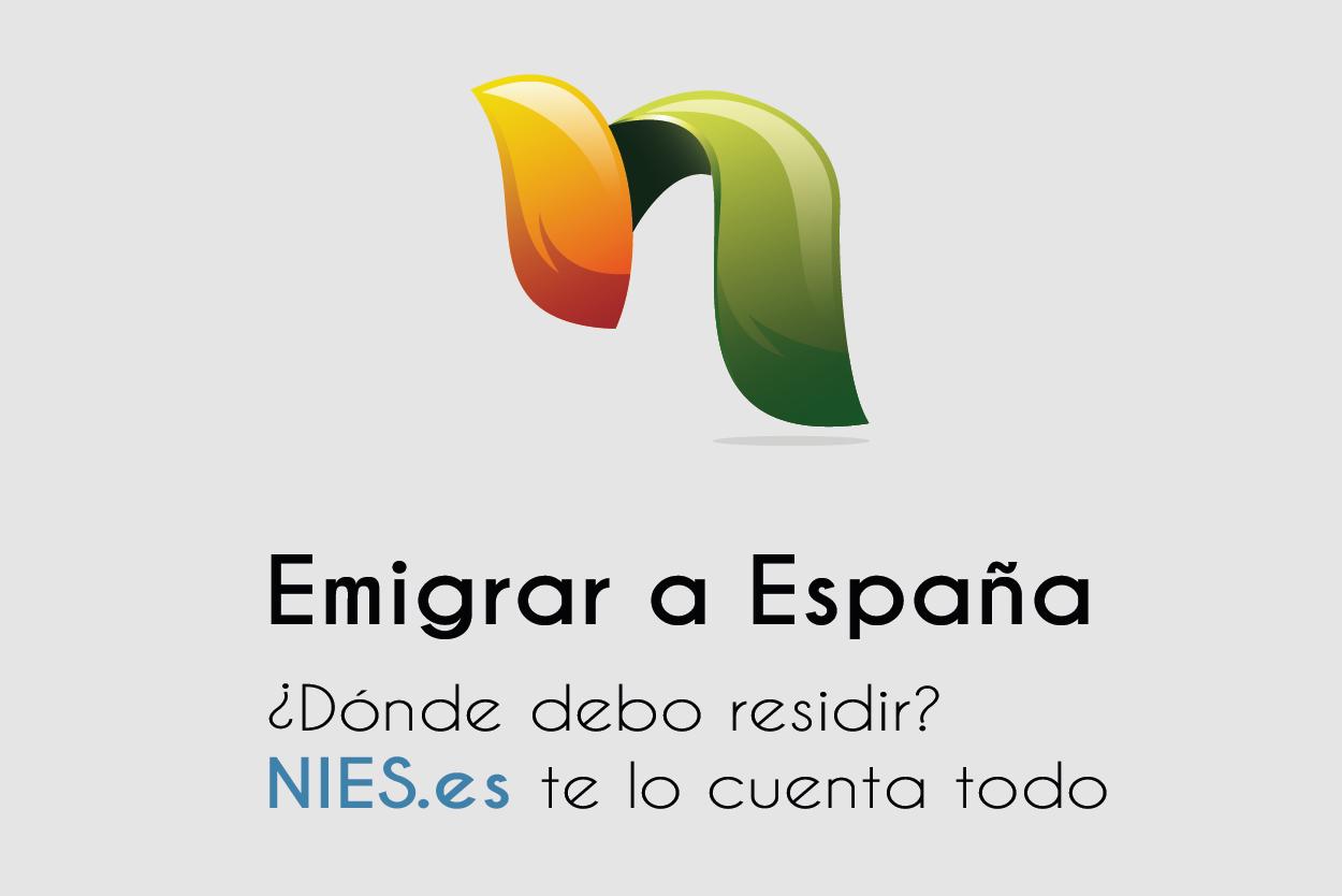 Emigrar a España, dónde residir