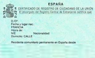 Certificado UE nuevo