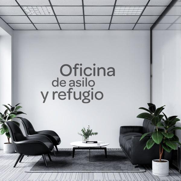 Oficina de asilo y refugio
