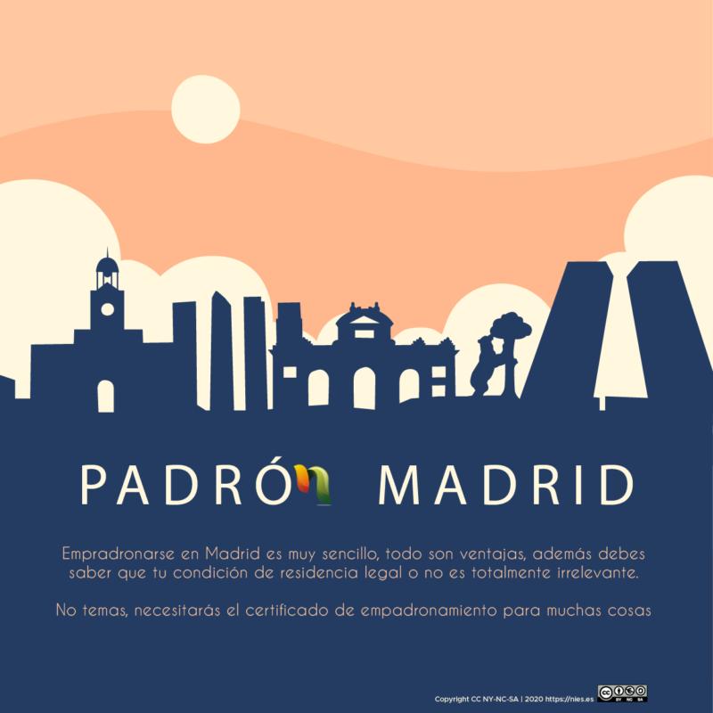 Empadronamiento en Madrid