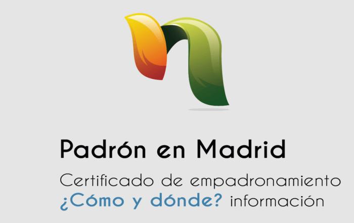 Padrón Madrid